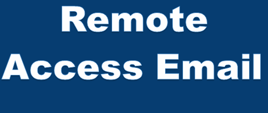 Remote Access Email